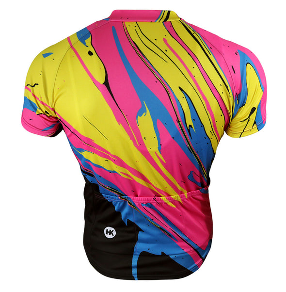 DragonFire Men's Club-Cut Cycling Jersey by Hill Killer