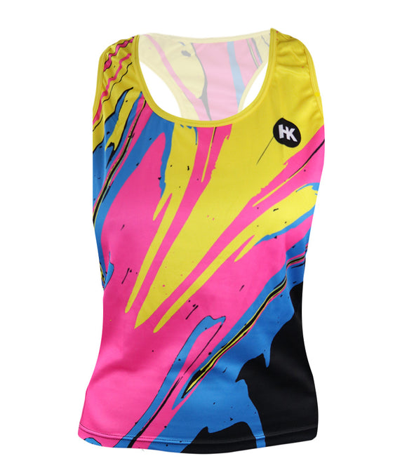 DragonFire Women's Crossover Racerback Tank Top by Hill Killer