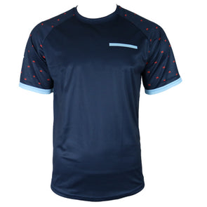 Dress Blue Men's Mountain Bike Jersey by Hill Killer