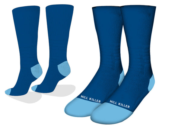 Blue Essential Cycling Socks