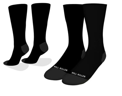 Black Essential Cycling Socks