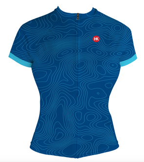 Great Heights Women's Club-Cut Cycling Jersey by Hill Killer