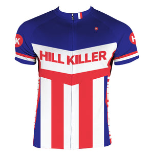 The Brooklyn 76 Men's Club-Cut Cycling Jersey by Hill Killer