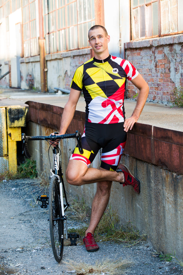 Pride of Maryland Youth Club-Cut Cycling Jersey by Hill Killer