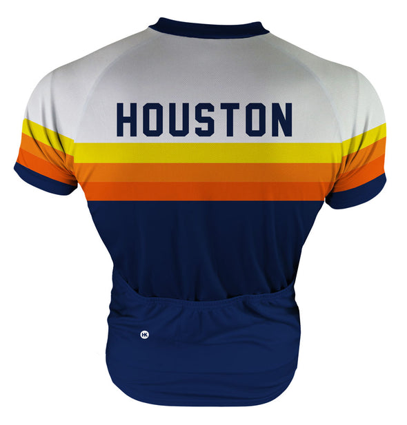 Houston Vintage Bragging Rights Men's Club-Cut Cycling Jersey by Hill Killer