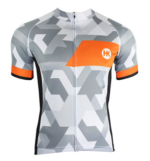 Ice & Fire Men's Slim-Fit Pro Cycling Jersey by Hill Killer