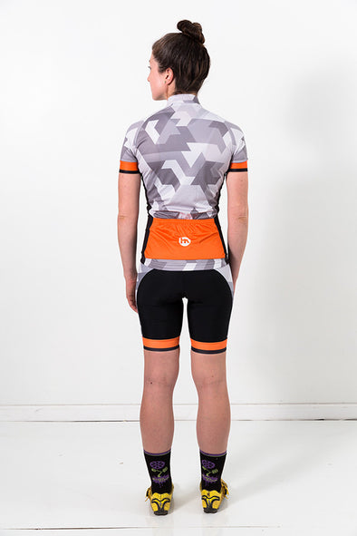 Ice & Fire Women's Premium Race Cycling Bibs by Hill Killer