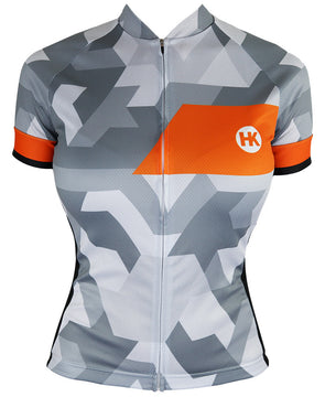 Ice & Fire Women's Slim-Fit Pro Cycling Jersey by Hill Killer