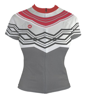 Icelandic Sweater Women's Club-Cut Cycling Jersey by Hill Killer