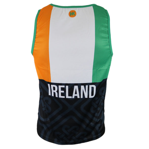 Ireland Men's Running Singlet by Hill Killer
