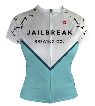 Women's Jailbreak Brewing Jersey Custom Club-Cut Cycling Jersey by Hill Killer