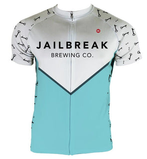 Men's Jailbreak Brewing Jersey Custom Club-Cut Cycling Jersey by Hill Killer