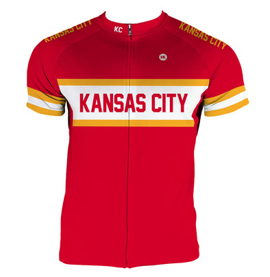 Kansas City Men's Club-Cut Cycling Jersey by Hill Killer