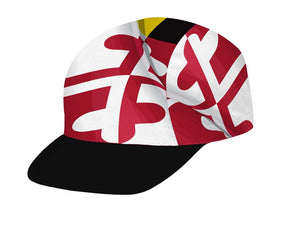 Pride of Maryland Unisex Cycling Cap by Hill Killer