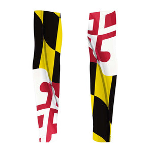 Pride of Maryland Unisex Arm Warmers by Hill Killer