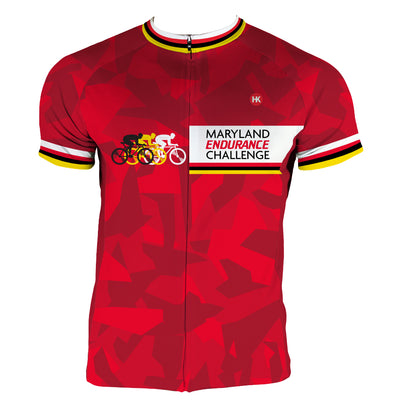 Maryland Endurance Challenge 2020 Custom Club-Cut Cycling Jersey by Hill Killer