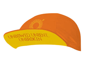 Sun Spear Orange Unisex Cycling Cap by Hill Killer