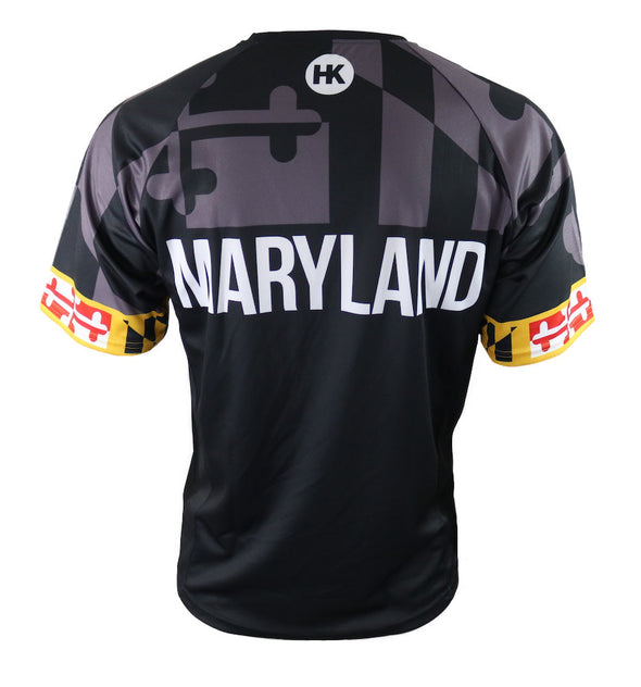 Maryland 'Blackout' Men's Mountain Bike Jersey by Hill Killer