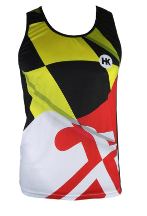 Pride of Maryland Men's Running Singlet by Hill Killer