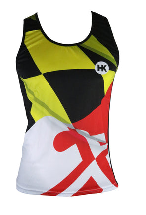 Pride of Maryland Women's Running Singlet by Hill Killer