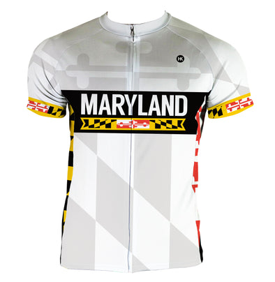 Maryland 2.0 Remix Men's Club-Cut Cycling Jersey by Hill Killer