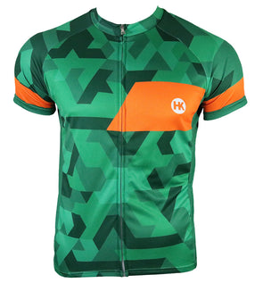The Pathfinder Men's Club-Cut Cycling Jersey by Hill Killer