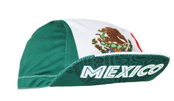 Mexico Unisex Cycling Cap by Hill Killer