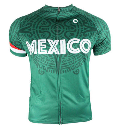 Mexico Men's Club-Cut Cycling Jersey by Hill Killer