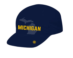 Michigan Unisex Cycling Cap by Hill Killer