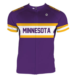 Minnesota Men's Club-Cut Cycling Jersey by Hill Killer