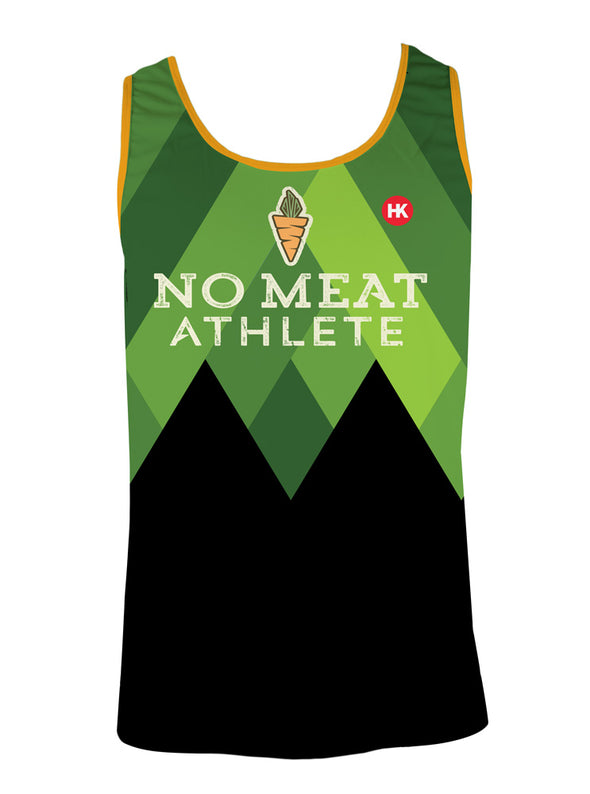 No Meat Athlete Men's Running Singlet by Hill Killer