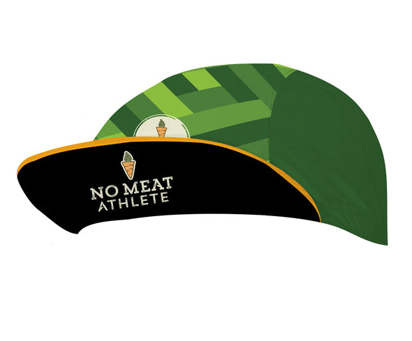 No Meat Athlete Unisex Cycling Cap by Hill Killer