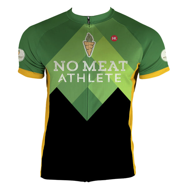 No Meat Athlete Men's Club-Cut Cycling Jersey by Hill Killer