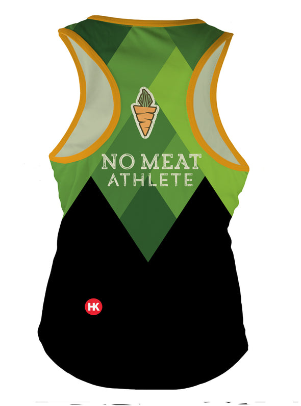 No Meat Athlete Women's Running Singlet by Hill Killer