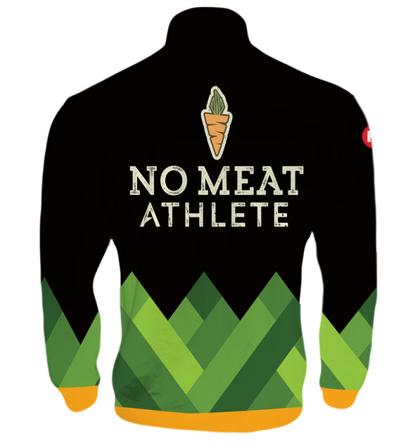 No Meat Athlete Men's Track Jacket by Hill Killer