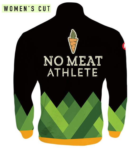 No Meat Athlete Women's Track Jacket by Hill Killer