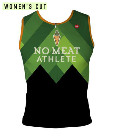 No Meat Athlete Women's Triathlon Top by Hill Killer