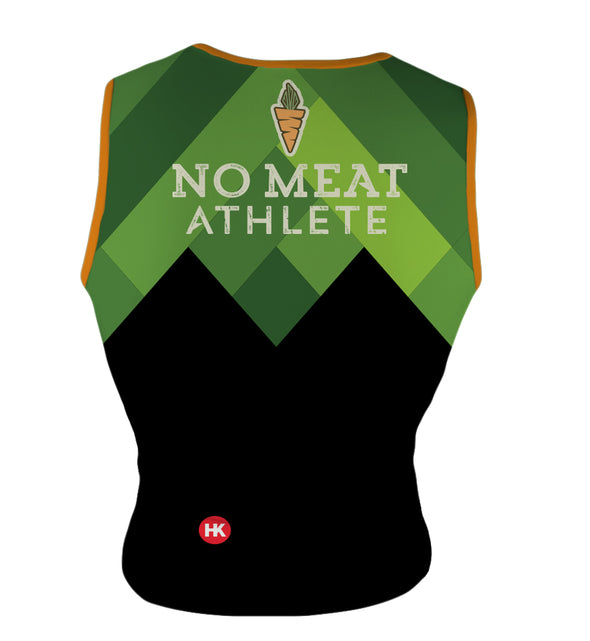 No Meat Athlete Men's Triathlon Top by Hill Killer