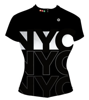 New York City (NYC) Women's Club-Cut Cycling Jersey by Hill Killer