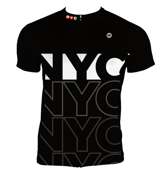 New York City (NYC) Men's Club-Cut Cycling Jersey by Hill Killer