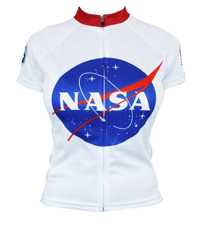 NASA Apollo Women's Club-Cut Cycling Jersey by Hill Killer