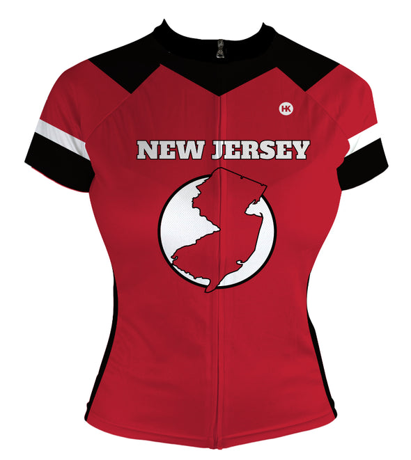 New Jersey Women's Club-Cut Cycling Jersey by Hill Killer