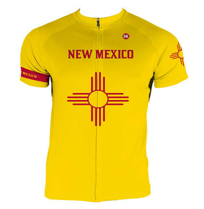 New Mexico Men's Club-Cut Cycling Jersey by Hill Killer