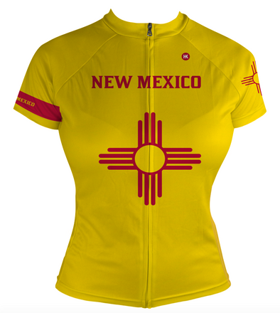 New Mexico Women's Club-Cut Cycling Jersey by Hill Killer