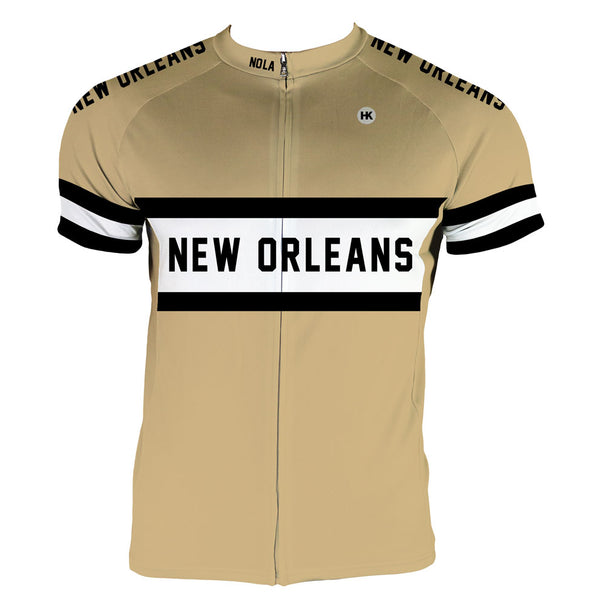 New Orleans Men's Club-Cut Cycling Jersey by Hill Killer