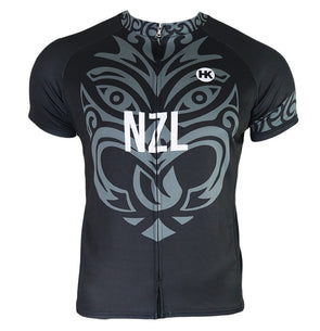 New Zealand Men's Club-Cut Cycling Jersey by Hill Killer