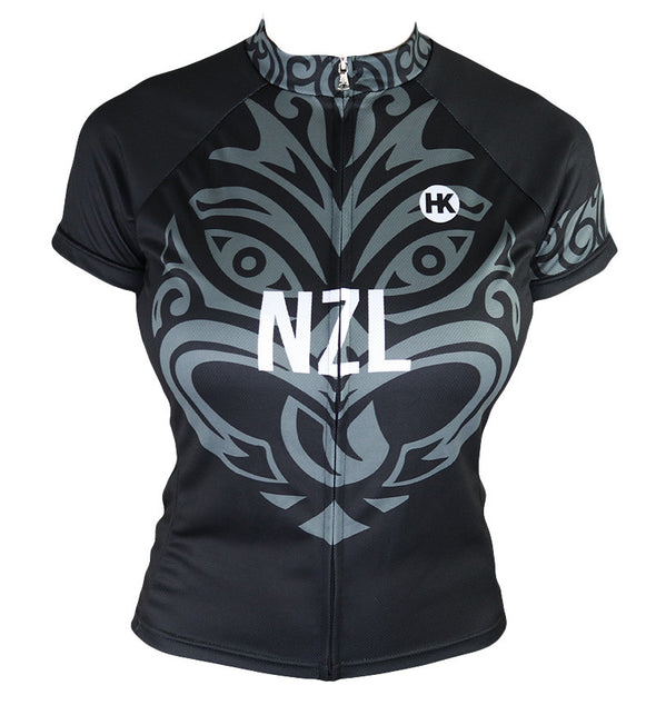 New Zealand Women's Club-Cut Cycling Jersey by Hill Killer