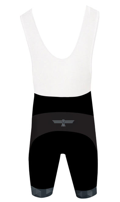 Night Black Men's Performance Cycling Bibs by Hill Killer