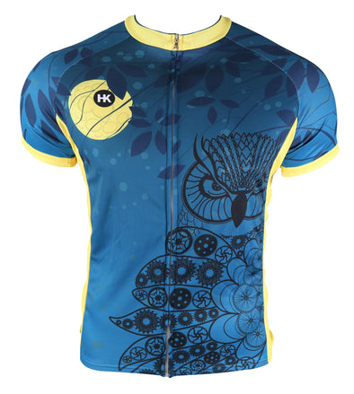 Night Owl Youth Club-Cut Cycling Jersey by Hill Killer