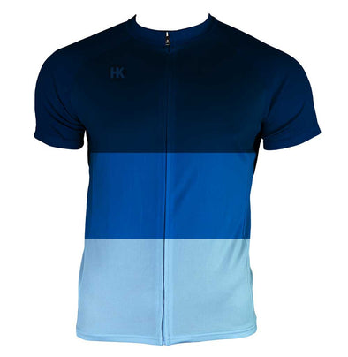 The Sleek Men's Club-Cut Cycling Jersey by Hill Killer